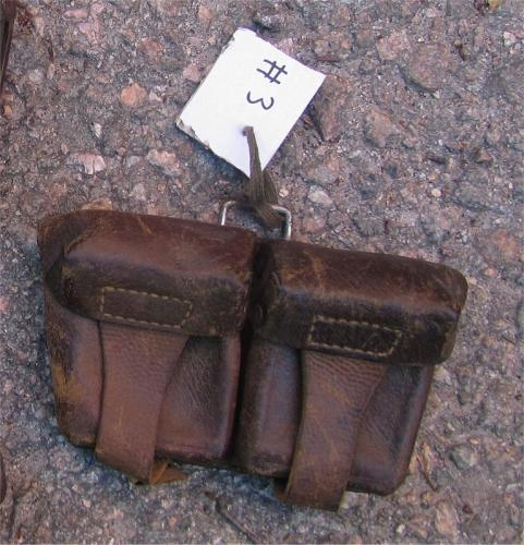 Soviet WW2 Mosin-Nagant ammo pouch #3