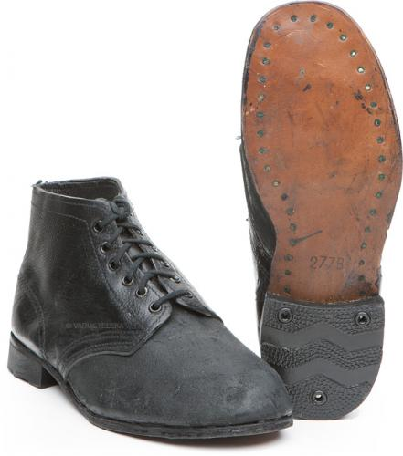 Soviet navy shoes, with leather soles, surplus