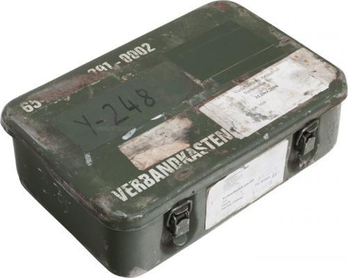 BW medical box, splashproof, steel, surplus