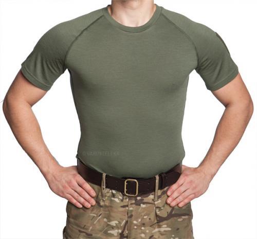 Särmä TST L1 T-shirt, Merino Wool, Green, old model