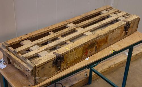 Wehrmacht PAK-75 ammo crate, surplus