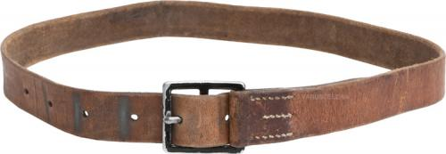 Swiss service belt, leather, surplus