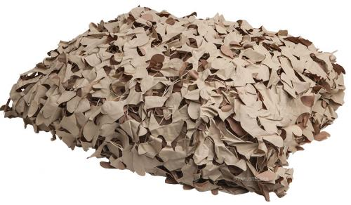 British camo net, 2 x 3 m, khaki, surplus