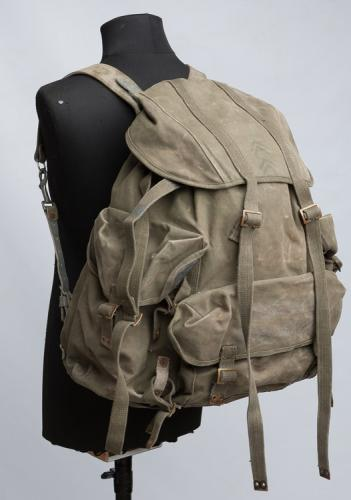 "Belgian ""Pattern 42"" commando pack with Norwegian frame, surplus"