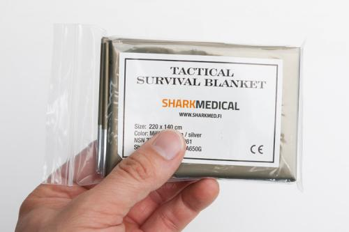Sharkmed Tactical Survival Blanket.