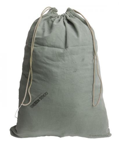 US laundry bag, gray-green, surplus