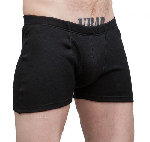 Särmä Merino Wool Boxers, Black