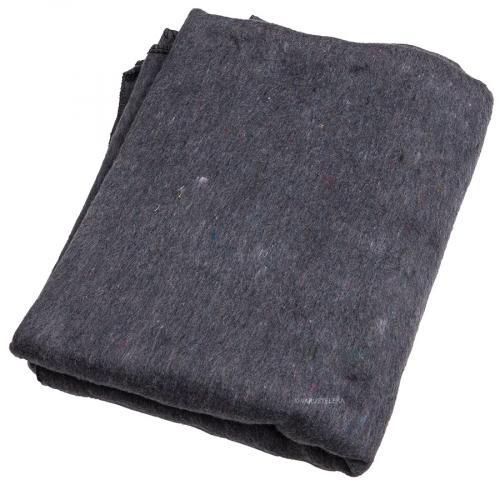 Bulgarian wool blanket, 200 x 160 cm, surplus