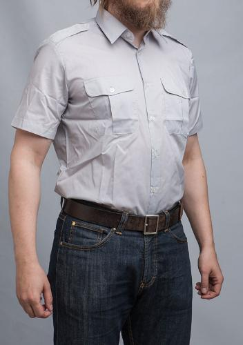 Finnish M58 dress shirt, short sleeve.
