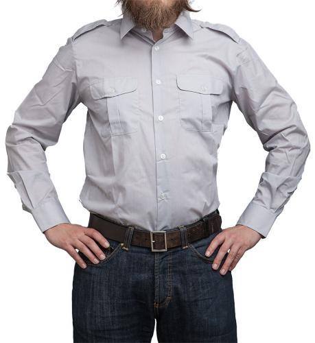 Finnish M58 dress shirt, long sleeve