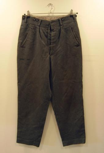 Finnish wool trousers #1