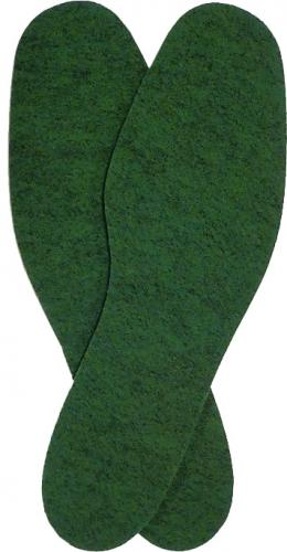 Swedish felt insoles, surplus