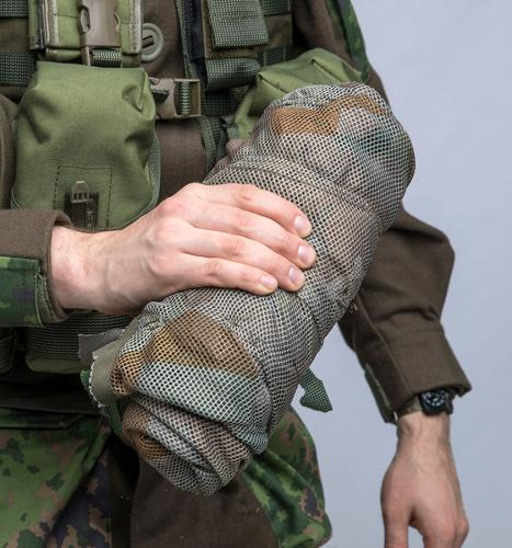 Snigel Design Ghillie Cloak 14. Compact pack size, fits in most largish utility pouches.