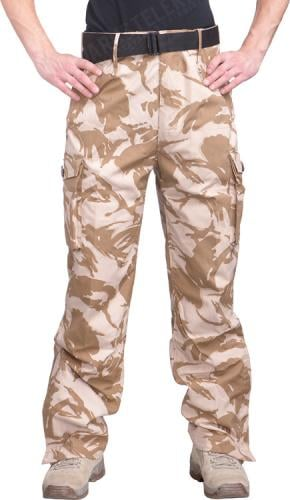 British CS95 Windproof trousers, Desert DPM, surplus