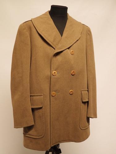 US officer's Mackinaw coat #1