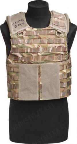 British Osprey body armour, MTP, with soft protective material, surplus