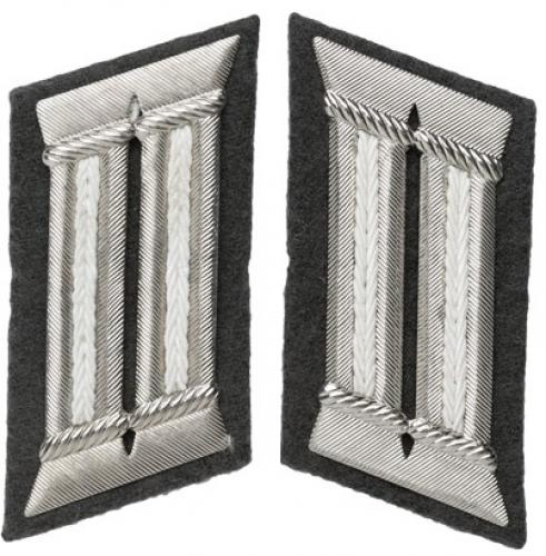 NVA officer's collar tabs, infantry, surplus