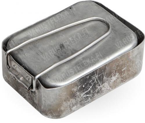 Dutch mess tin, aluminium, surplus