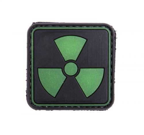 Ionizing radiation, Glow-in-the-dark PVC morale patch