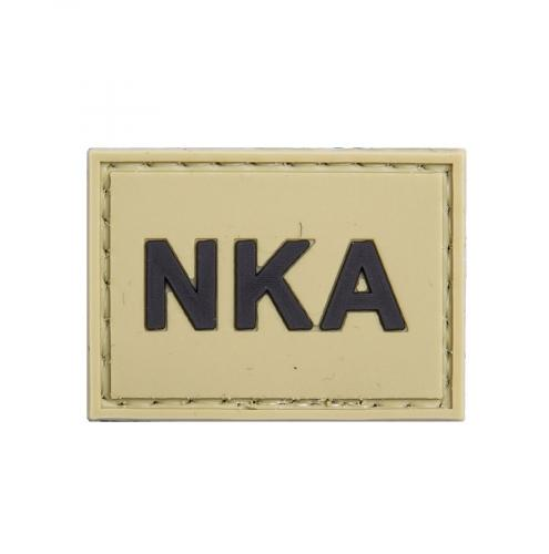 NKA (No Known Allergies) PVC morale patch