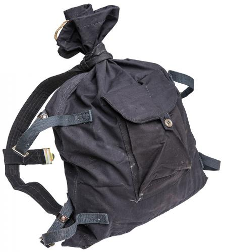 Soviet Veshmeshok rucksack, black, surplus