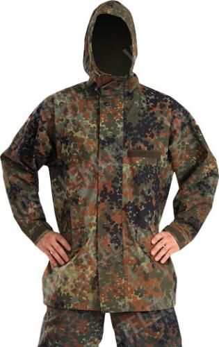 BW Gore-Tex jacket, Flecktarn, surplus