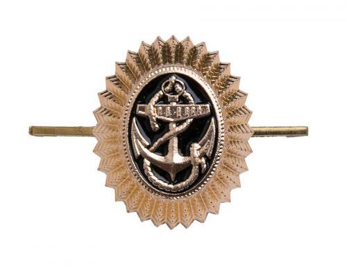 Soviet navy cockade, metal, surplus
