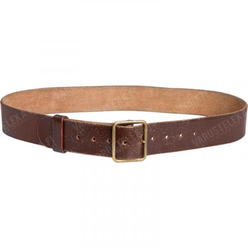 Swiss leather belt, surplus