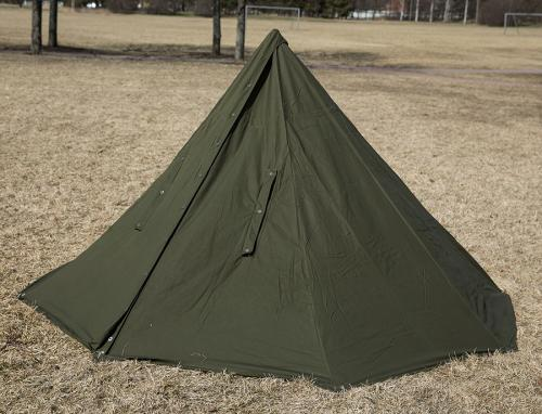 Polish two-man tent, surplus