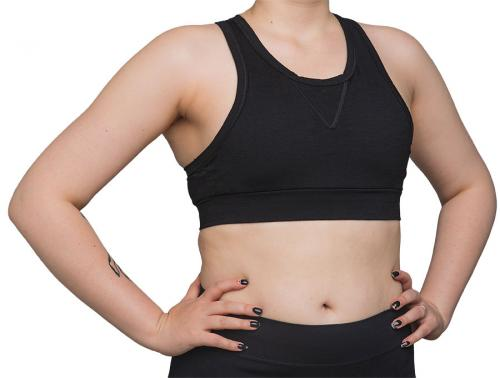 Särmä Merino Sports bra, black