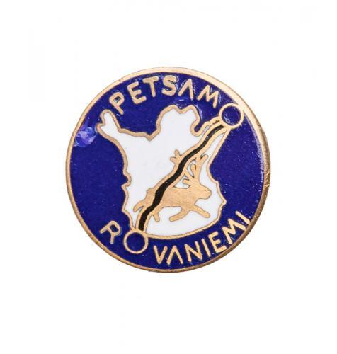 Petsamo-Rovaniemi badge, repro
