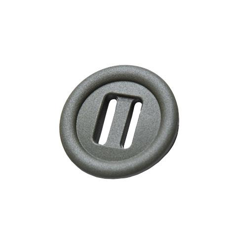 2M Slotted button, 10 pcs