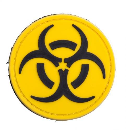 Biohazard PVC morale patch