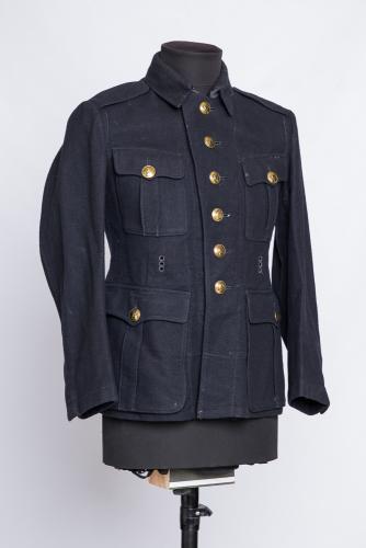 German / Finnish fireman's wool tunic #1
