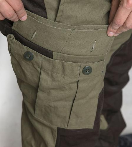 Tactic-9 Gorka field trousers, brown.