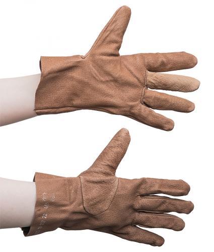 Czech women's leather gloves, surplus