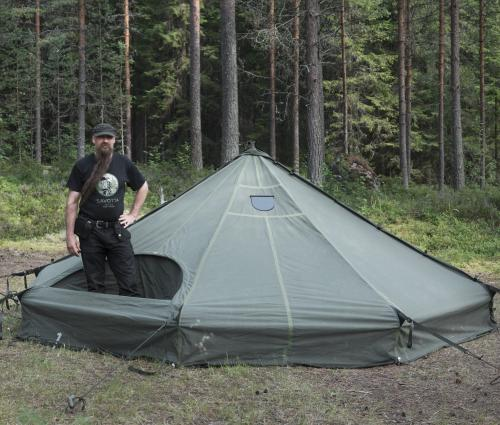 Savotta Hawu 8 tent components