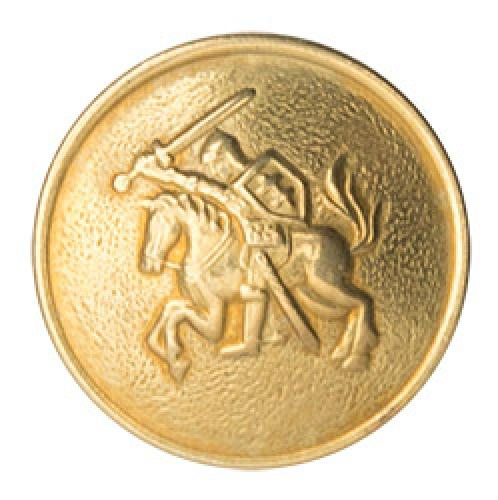 Lithuanian brass button, surplus