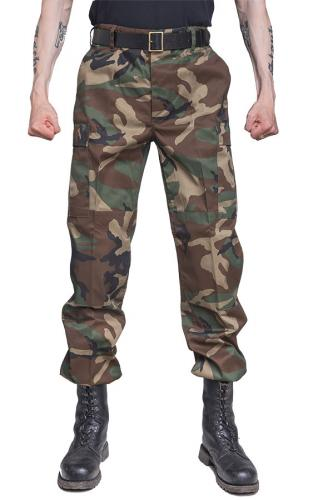 Mil-Tec BDU cargo pants, poly-cotton