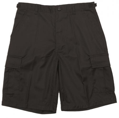 Mil-Tec BDU shorts, polycotton, black