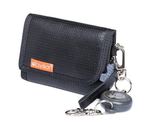 Civilian Labs leather wallet with reel, II-quality