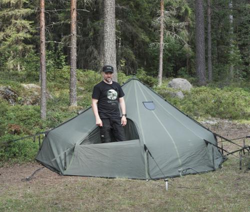 Savotta Hawu 4 tent components