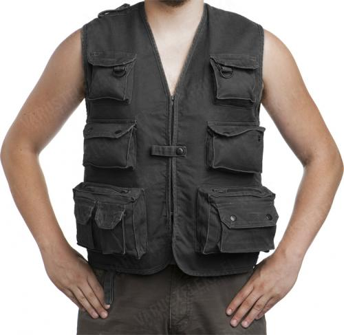 Mil-Tec outdoors vest, moleskin