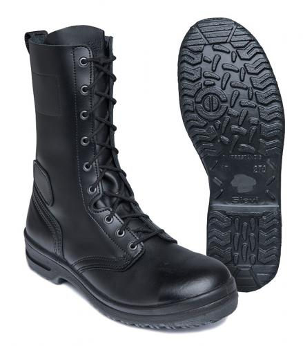 Swedish M93 combat boots, with zipper