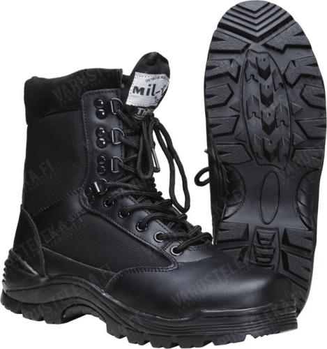 Mil-Tec Tactical Boots with zipper