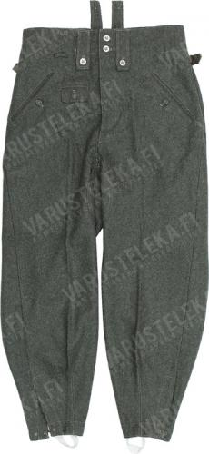 Wehrmacht M43 wool trousers, repro, used.