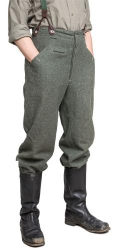 Wehrmacht M40 wool trousers, repro, used