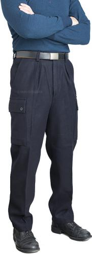 Finnish M65 wool trousers, dark blue, surplus