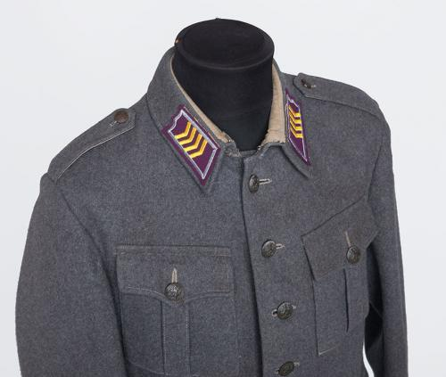 Finnish M36 wool tunic #4.