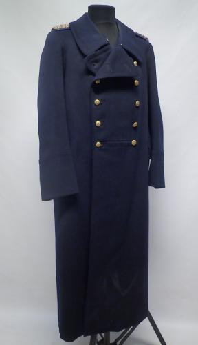 Finnish police greatcoat, World War 2 era #1